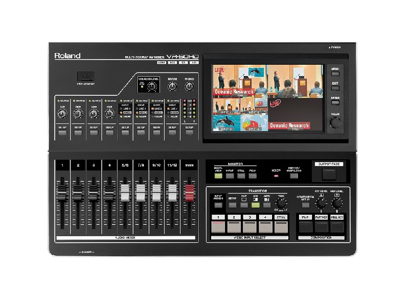Video mixer ROLAND VR-50HD